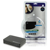 HQ 4 Poorts HDMI-splitter (3D)