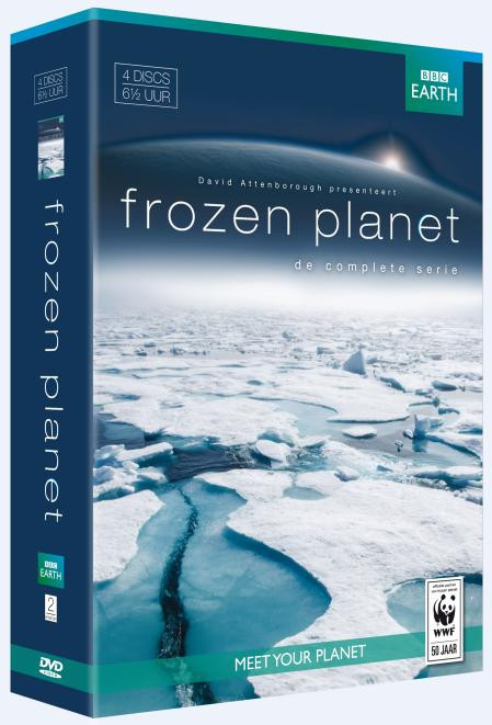 BBC Earth - Frozen Planet Blu-ray