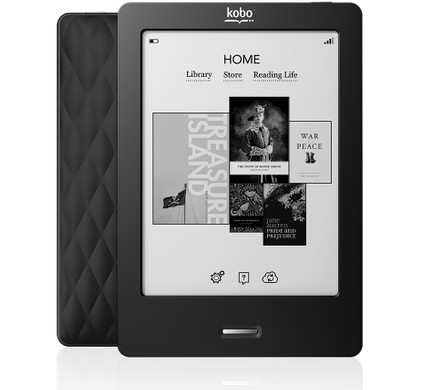 Kobo Touch Edition + Thuislader + Case + Geheugen + Lamp - Coolblue