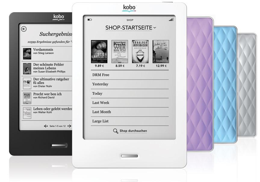 Kobo Touch Zwart