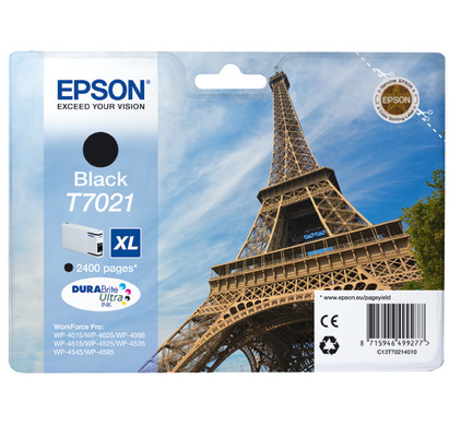 Epson T7021 Cartridge Zwart XL (C13T70214010)