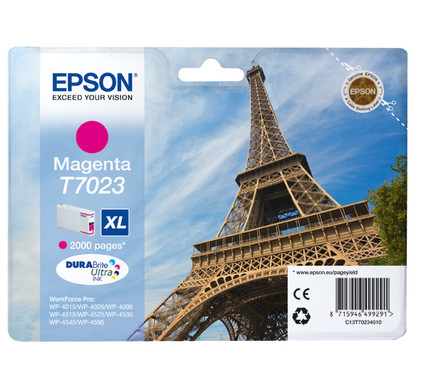 Epson T7023 Cartridge Magenta XL (C13T70234010)