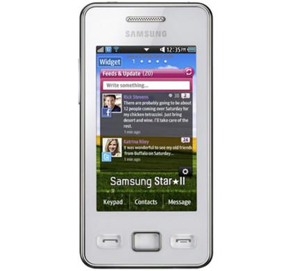 Samsung Star II S5260 NFC