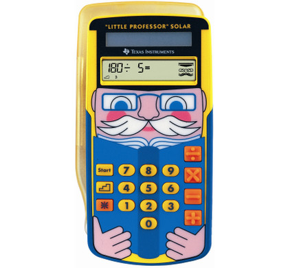 Texas Instruments Little Professor Solar