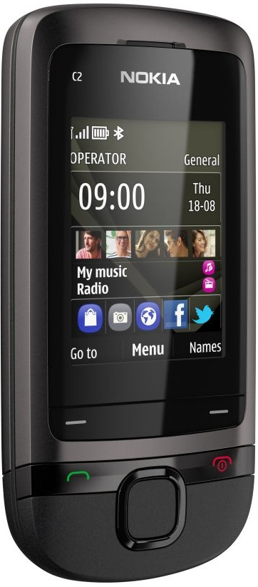 Nokia C2-05 Dark Grey