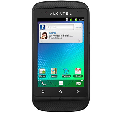 Alcatel OT-918 Black + Autolader