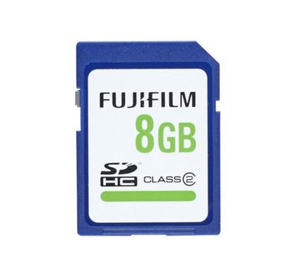 Fujifilm SDHC 8 GB Class 2