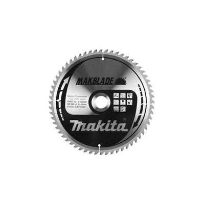 Makita Zaagblad HM hout 210x2.4 16T B-08230