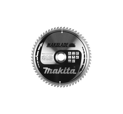 Makita Zaagblad HM hout 210x30x2.4mm 16T B-08230