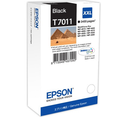 Epson T7011 Cartridge Black XXL (C13T70114010)