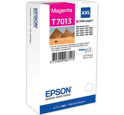 Epson T7013 Cartridge Magenta XXL (T70134010)