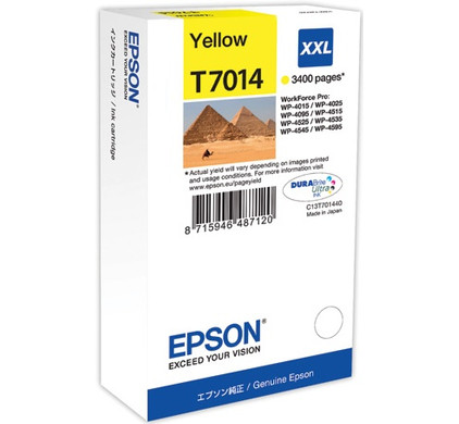 Epson T7014 Cartridge Geel XXL (T70144010)