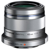 Olympus M.Zuiko Digital 45mm f/1.8 Zilver