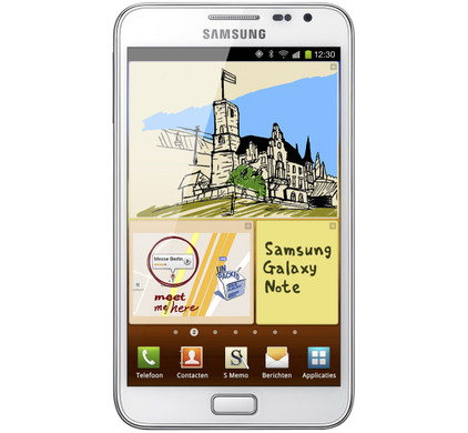 Samsung Galaxy Note N7000 White