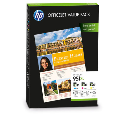 HP 951XL Officejet Value Pack (CR712AE)