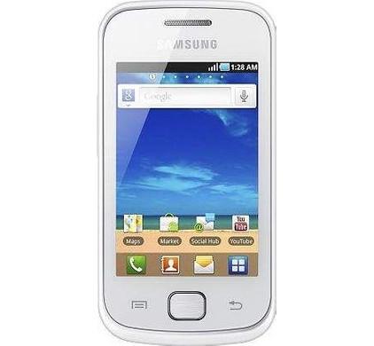 Samsung Galaxy Gio S5660 Silver White