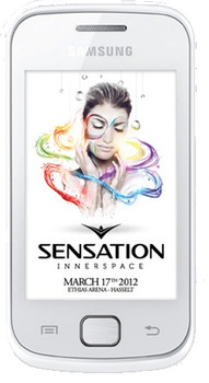 Samsung Galaxy Gio S5660 Sensation White