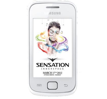 Samsung Galaxy Gio S5660 Sensation White
