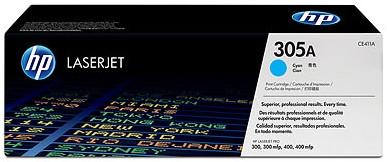 HP 305A LaserJet Toner Cyaan (CE411A)