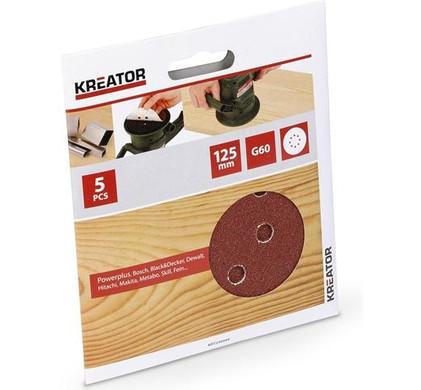 Kreator Schuurschijf 125mm K60 (5x)