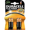Duracell Plus Power 4-pack AAA