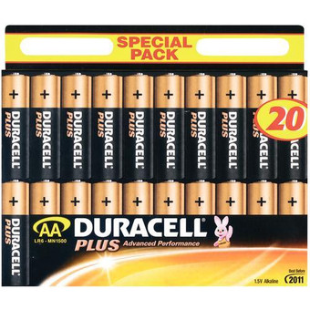 Duracell Plus 20-pack AA