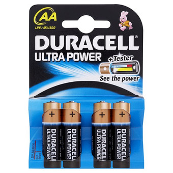 Duracell Ultra Power 4-pack AA
