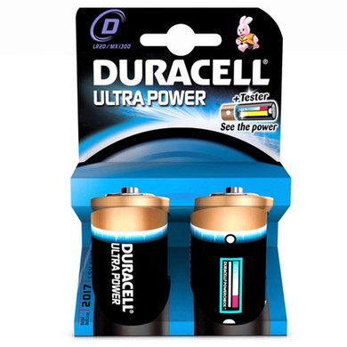 Duracell Ultra Power 2-pack D