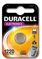 Duracell Electronics (knoopcel) 1220 1-pack