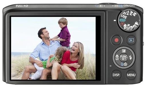 Canon PowerShot SX240 HS Zwart