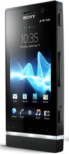 Sony Xperia U Black + White Cap