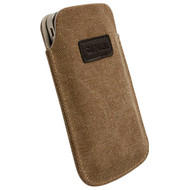Krusell Uppsala Pouch Brown Large