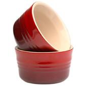 Le Creuset Set Van 2 Schaaltjes 0,23 L Kersenrood