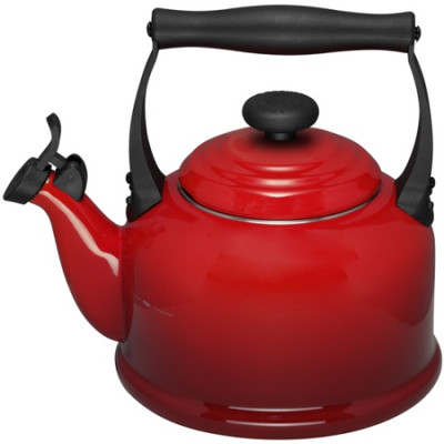 Image of Le Creuset Waterketel Tradition 2,1 L Kersenrood