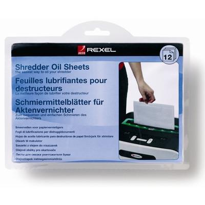 Image of Oil Sheets voor Papiervernietigers