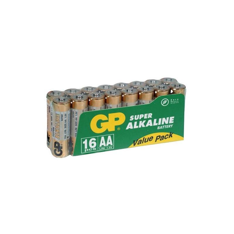 Gp Super Alkaline Valuepack 16x Aa vandaag bezorgd