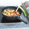 product in gebruik Easy Induction Wokpan 30 cm