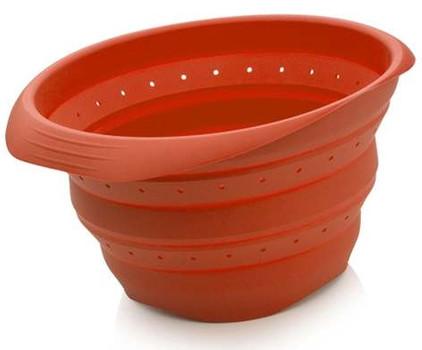 BK Siliconen Vergiet Rood 22 cm