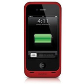 mophie Juice Pack Plus Battery iPhone 4 / 4S Rood