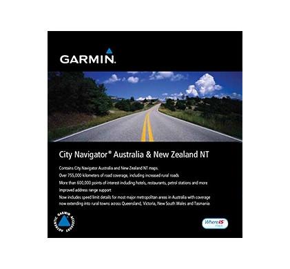 Garmin City Navigator NT Australie & Nieuw Zeeland microSD