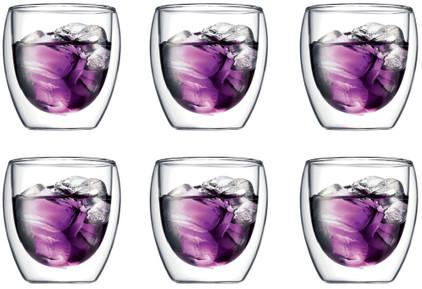 Bodum Pavina Dubbelwandig Glas 25 cl (6 stuks)