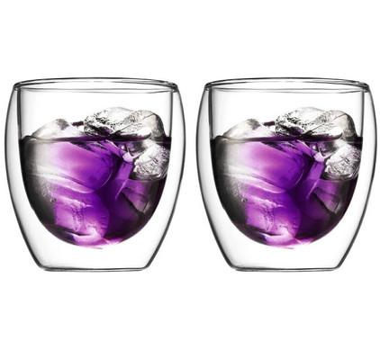Bodum Pavina Dubbelwandig Glas 25 cl (2 stuks)