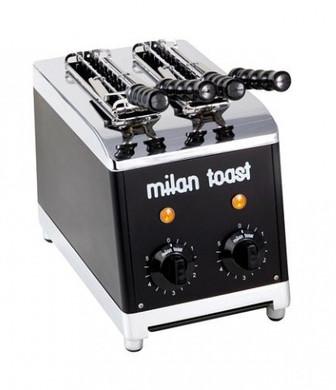 milan toast tosti 2 slots zwart coolblue. Black Bedroom Furniture Sets. Home Design Ideas