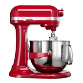 KitchenAid Artisan Mixer Bowl-Lift 6,9L Keizerrood