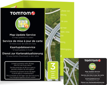TomTom Map Update Service (3 jaar)