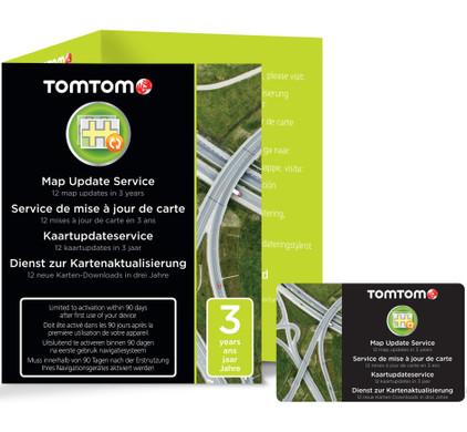 TomTom Map Update Service (3 jaar)
