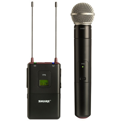 Image of Shure FP25/SM58 draadloze camera-microfoonset