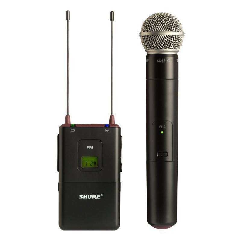 Shure Fp25/sm58 Draadloze Camera-microfoonset