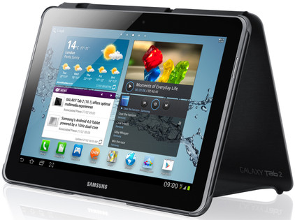 Samsung Galaxy Tab 2 10.1 Book Cover Black