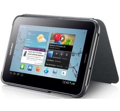 Samsung Galaxy Tab 2 7.0 Book Cover Black